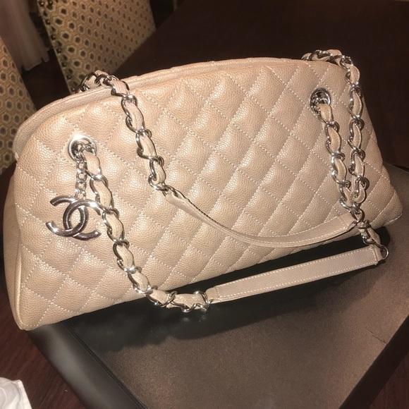 4146fe979370 CHANEL Handbags - Mademoiselle Chanel bowler bag